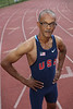 Photo / Candace West, for the South Florida Sun Sentinel.<br /> April 2, 2017,<br /> Brian Hankerson, 58, competes in USA Track & Field Masters Division meets.
