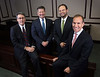 11-9-2012. Photo by CandaceWest.com<br /> Law Offices of Sheldon Schlesinger<br />     1212 Southeast Third Avenue,   Fort Lauderdale, Fl 33316<br /> L to R are: Crane Johnstone, Steven Hammer, Jonathan Gdanski, and Scott Schlesinger. <br /> Most Effective Lawyer.