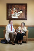 At GuardianMed, prescriptions are brought to every appointment for a safety and efficacy review. GuardianMed founder and CEO Dr. Bill Russell consults with Century Village resident Carmen Watson, of West Palm Beach.<br /> December 19, 2016. <br /> Photo by Candace West.com