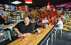 Photo by CandaceWest.com,<br />  September 28, 2015,<br /> BRGR STOP owner Michael Buchinski,<br /> 4301 Coconut Creek Parkway<br /> Coconut Creek, FL