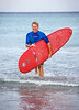 Photo / Candace West, for the South Florida Sun Sentinel.<br /> March 14, 2017,<br /> Tom Warnke of Delray Beach was one of the first surfers in South Florida and is still out there weekly at 68 years old.