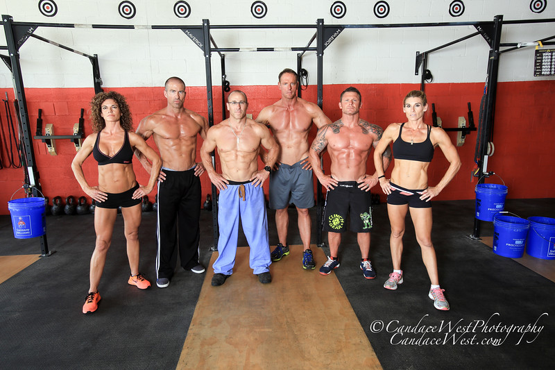 """Photo by CandaceWest.com,<br /> Left to Right are: Monica Diaz,<br /> Jay Campbell,<br /> Dr Brett Osborn,<br /> Jim Brown,<br /> Ray """"Cash"""" Care, and <br /> Melissa Hankins.<br /> April 4, 2015<br /> The WOD FARM<br /> 9278 158th Road South<br /> Delray Beach, FL 33446"""