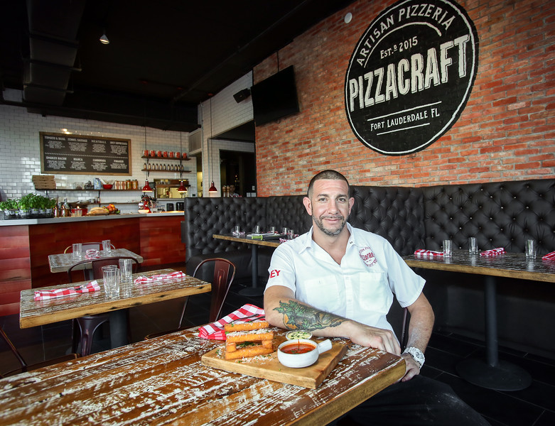 Photo by CandaceWest.com,<br /> Executive Chef Bret Hauser<br /> November 10, 2015,<br /> Pizzacraft<br /> 330 Himmarshee St.<br /> Fort Lauderdale, Florida<br /> (954) 616-8028