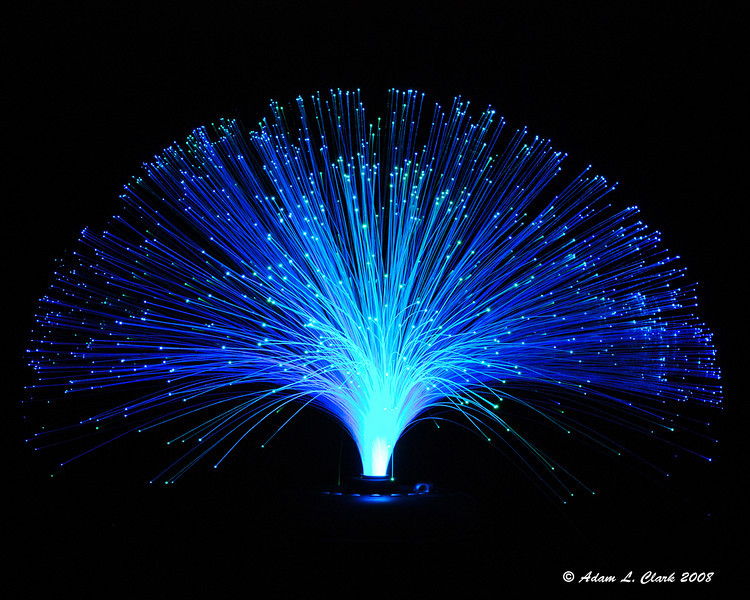 LED fiber optic light