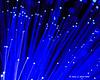 LED fiber optic light close up