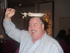 Bob (Pat Bailey) behaving himself at the Union Party, 2006