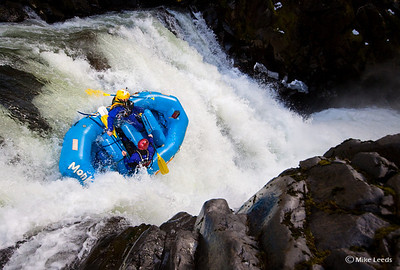 Orion Meridith and team firing up Big Brother on the White Salmon River in Washington.