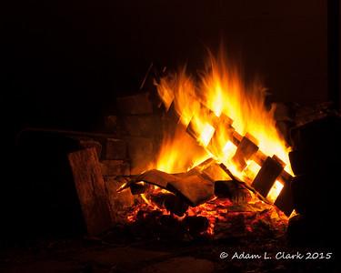 Patio Fire Pit 10.21.2015