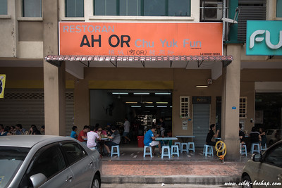 Nondescript place serving M'sian hawker food.