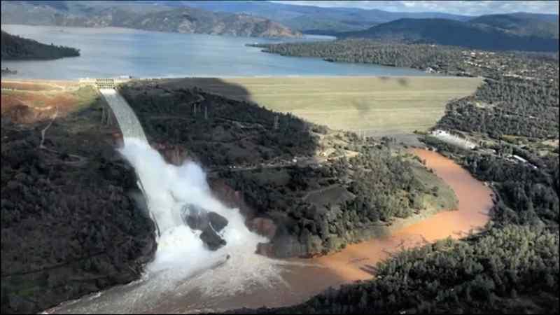 Oroville Dam Spillway Break