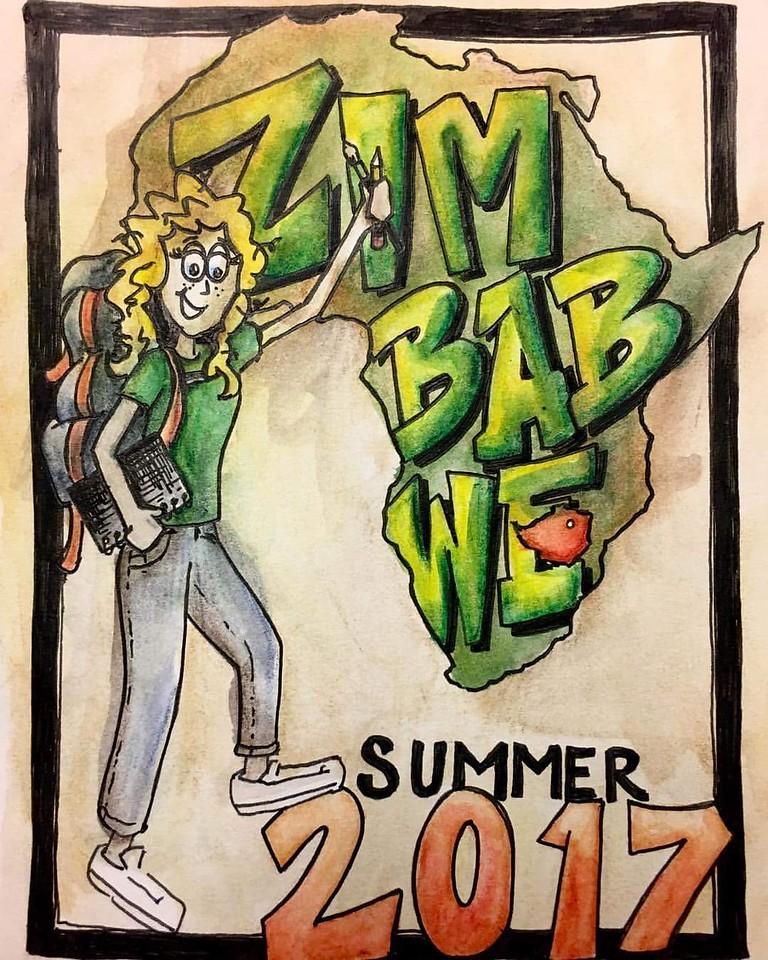 Amber's Going to Zimbabwe!