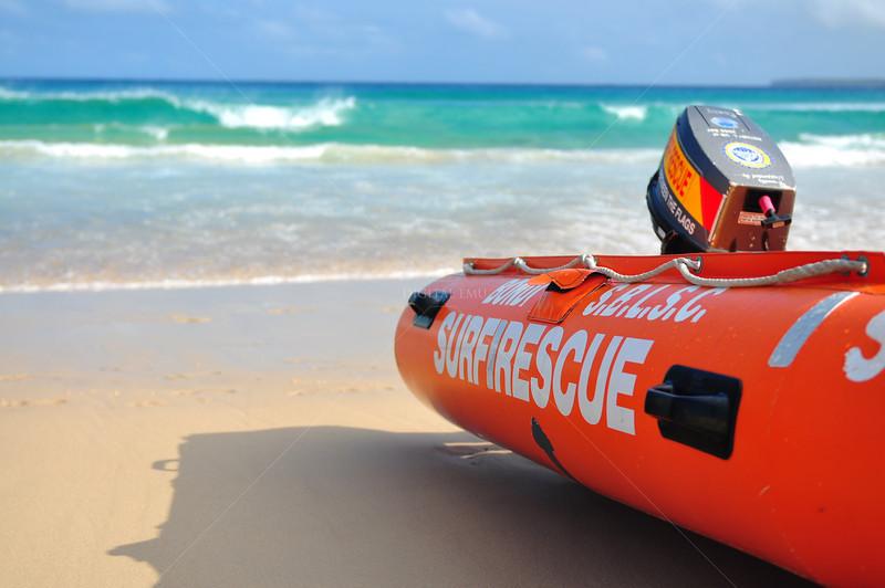 Bondi Beach surf life saving