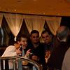 Mike, Shahriar, and Giorgio posing as the Human Centipede.