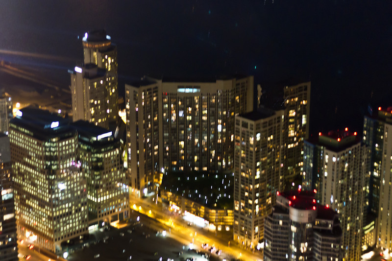 A blurry pic of Saxtron's friend's condo from up high, in exchange for free parking.