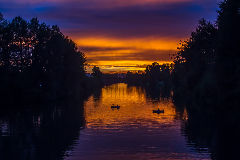 Snohomish River Twilight #1