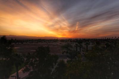 Palm Springs' Sunrise