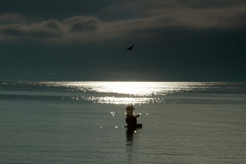 Puget Sound Fly Fisherman