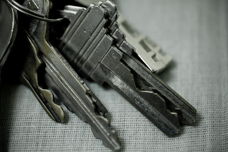 |Keys| - for doors that are never locked..