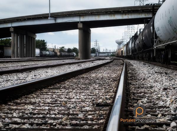 train tracks always bring calm to my day
