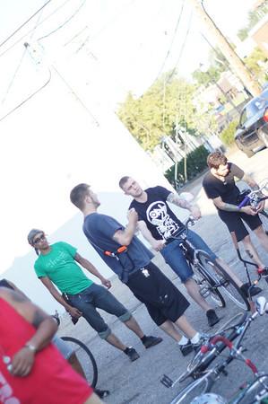 20120712 Downtown Ferndale Bike Shop Ride