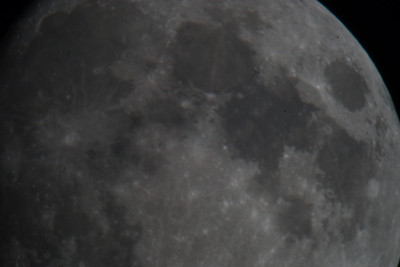 20130916 The Moon with 800mm Reflex and Teleconverters