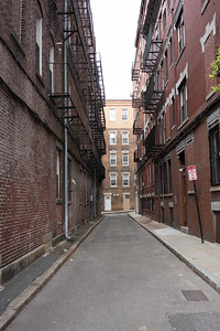 Alleyway in Boston