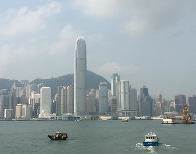 Amazing skyline in Hong Kong!