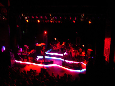 Disco Biscuits when they first bought the stage lights.    I forget where this is but I am going to guess Ithaca end of 2006