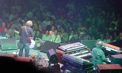 see if you can find me, long hair front row.  Phish December 1, 2003