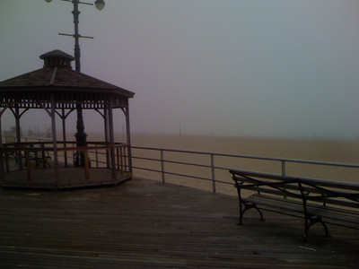 foggy coney island