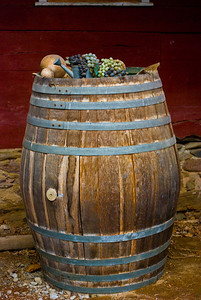 Barrel of Grapes