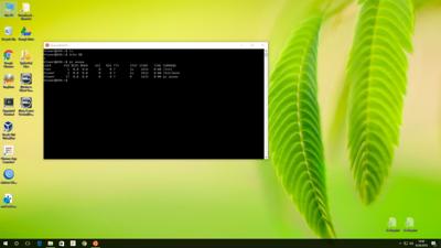 Windows 10 bash
