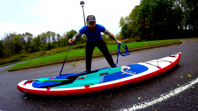How to Portage a SUP - Instagram Edit