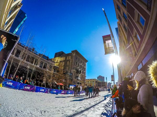 Multi person ski race?!