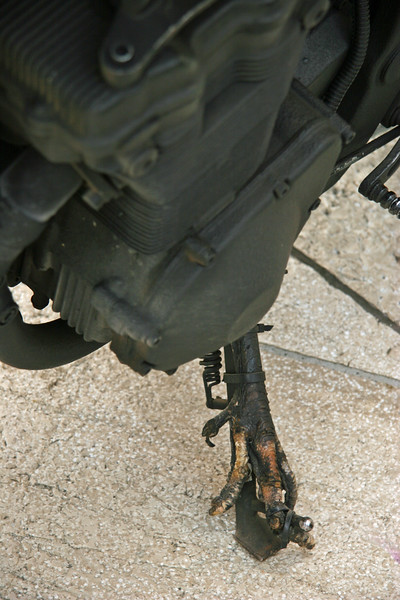 detail of Rat Bike, Croatia - July 2009