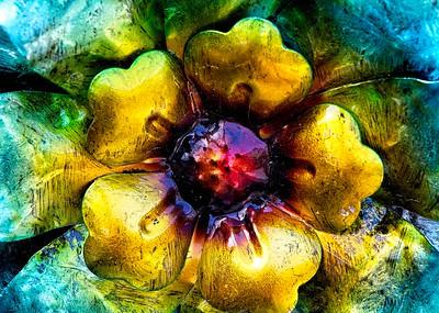 TIN FLOWER