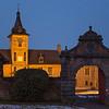 Le château au crépuscule