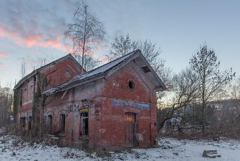 L'ancienne gare de La Roche