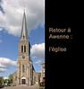 Retour à Awenne : l'église