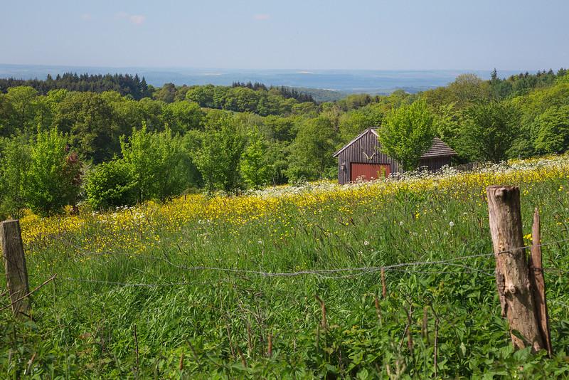 La cabane sur la colline