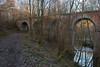 Les sept ponts<br /> <br /> qui enjambent le chemin et l'Eau d'Yves