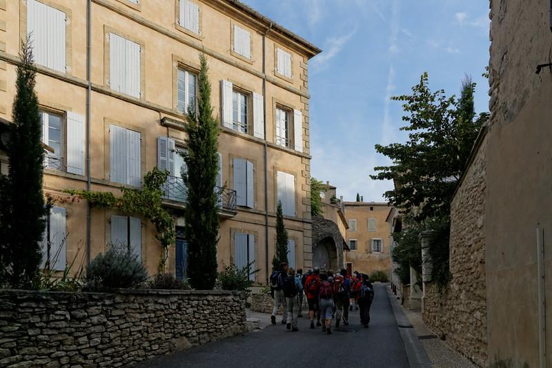 Lagnes, le village