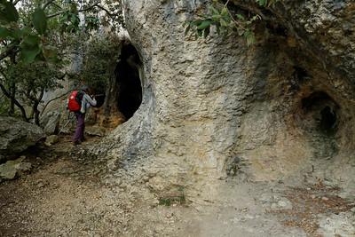 Grotte à la Roque des Bancs