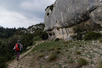Roque des Bancs, en route vers Baume Rousse