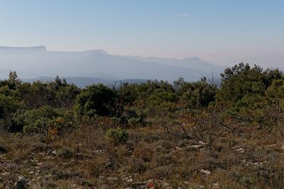 Vers le sud. Ste Baume, Crêtes de Roquefort, Cap Canaille