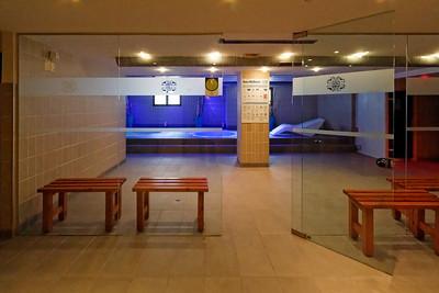 Jacuzzi, Sauna, Hammam, Salle de Gym