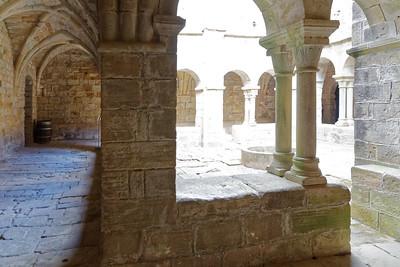 Prieuré St Michel - Cloître