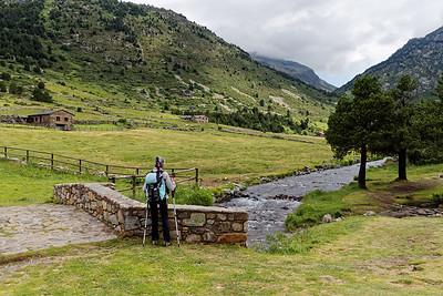 Col d'Inclès - Etangs de Fontargente - Pont de Bonavida