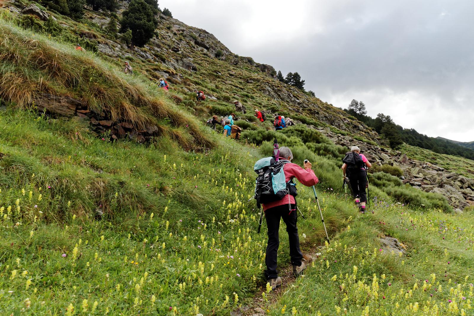 Col d'Inclès - Etangs de Fontargente - Avec Zig Zag Rando