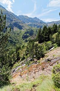 Vallée de Ransol - Riù de Jan - Val dels Meners